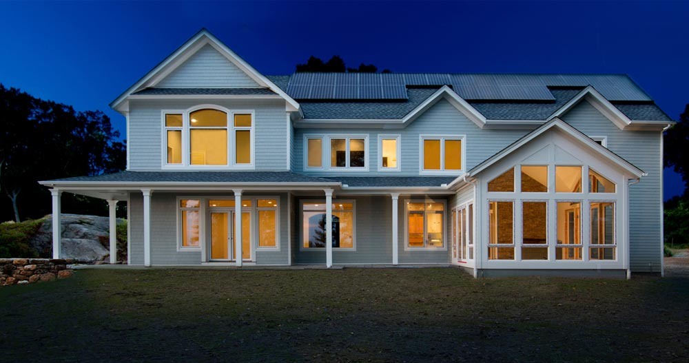 Passive House Designed by Philippe Campus Architect/Caryn B. Davis Photographer
